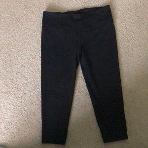 Women's black athletic pants